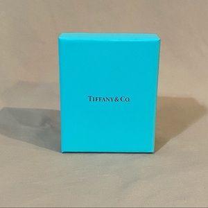 Tiffany & Co box with padding